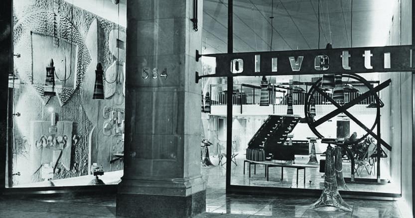 negozio olivetti new york