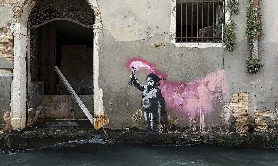 banksy venice mural feature