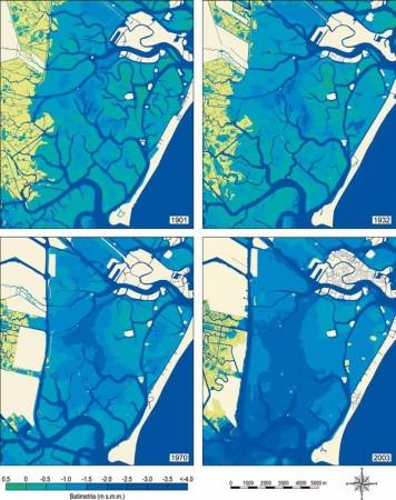 evoluzione morfolog ica della laguna di venezia 2324015 6
