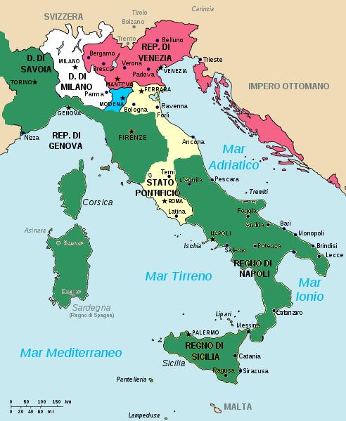 federico II Italia