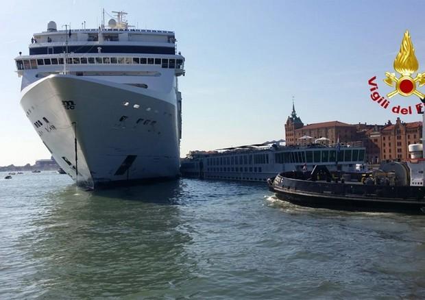 grandi navi incidente