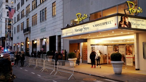 paris theater new york