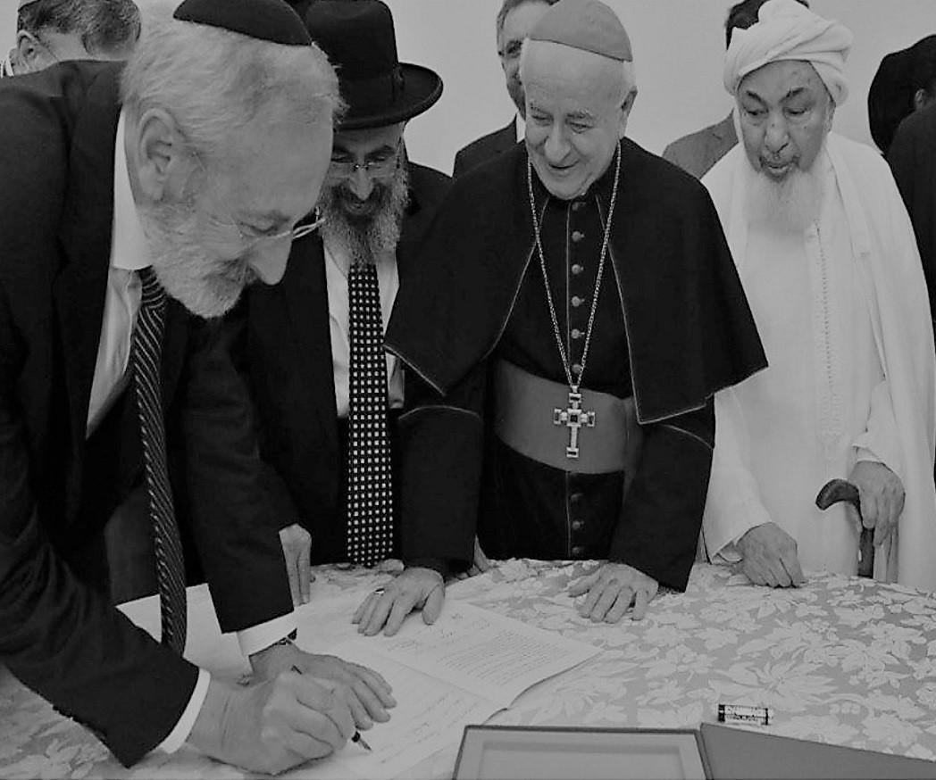 Ebrei Mussulmani Cristiani e fine vita